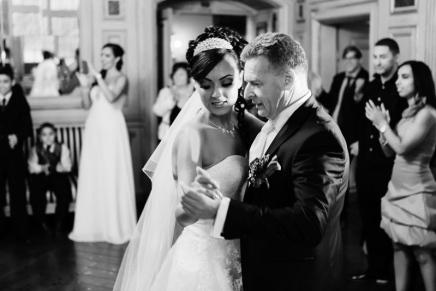 Hochzeitstanz auf SchlossEhreshoven