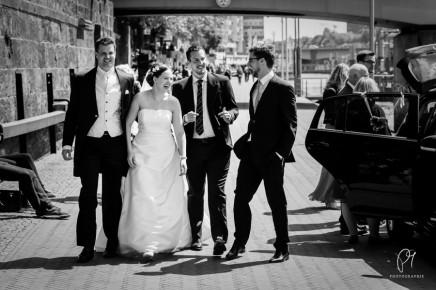 Die Braut, der Bräutigam und seine Brüder – Hochzeit an derSchlachte
