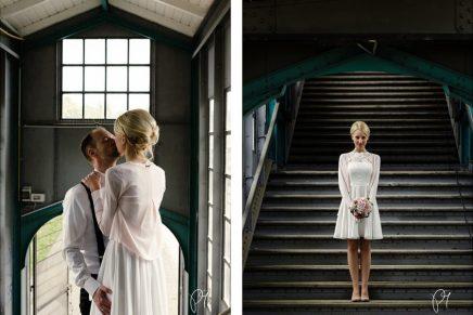 Hochzeitsfotos im Alten HauptbahnhofSolingen