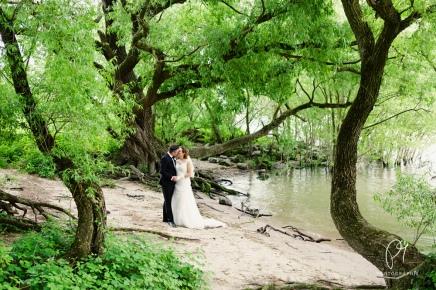Hochzeitsshooting am Rhein inMeerbusch