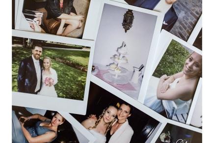 Hochzeitsfeier auf der Marienburg mit der Fujifilm instaxwide
