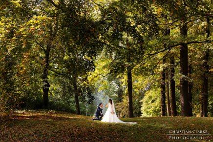 Eine Hochzeit im Herbst auf BurgBergerhausen