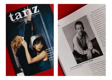 Erste Foto-Publikation in der TanzZeitschrift