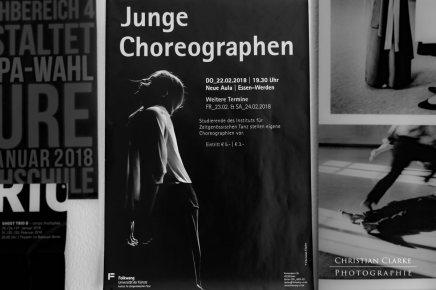 """Mein erstes Poster für die """"Junge Choreographen2018"""""""