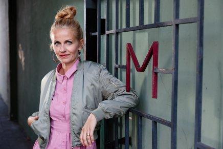 Die Musikerin Magdalena Kryspin in DüsseldorfOberbilk
